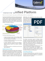 Talend Unified Platform