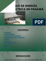 Parque de Energía Hidroeléctrica en Panamá