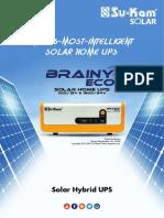 Sukam Brainy Eco 1600 VA Brochure
