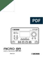 BR-80 Procesador Efectos
