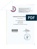 7. Certification for Rats