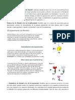 Las leyes de Mendel Las leyes de Mendel texto.pdf