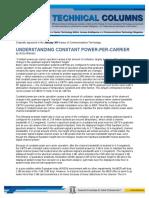 11 01 01 Understanding Constant Power Per Carrier