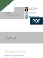 WiX - Installer Framework
