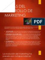 Etapas Del Dearrollo de Marketing