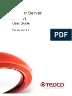 Mentor Server Admin v9.1 User Guide