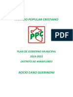 María Cano Guerinoni -Partido Popular Cristiano