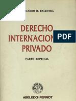 Balestra, Ricardo - Derecho Int. Privado Parte a