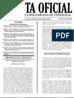 Gaceta Oficial Decreto con Rango, Valor y Fuerza de Ley Orgánica de la Administración Financiera del Sector Público y de Ley de Contrataciones Públicas... (2014)