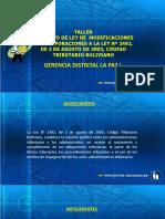 Diapositivas Ley de Modificacion
