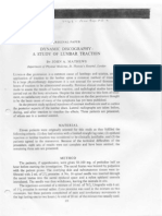 Mathews JA. Dynamic Discography-A Study of Lumbar Traction