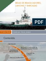 Empresas de Remolcadores, Lanchas y Barcazas.pptx