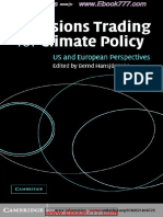Emissions Trading for Climate Policy - US and European Perspectives