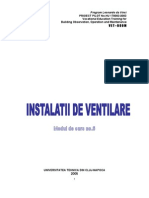 Instalatii Ventilatie Si Climatizare