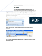 Manual Para Conectar Excel Con Access