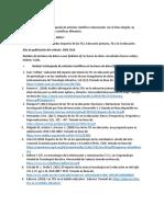Revisión Bibliografica TICs en Educacion