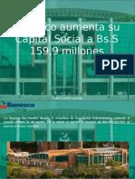 Juan Carlos Escotet - Banesco Aumenta Su Capital Social a Bs.S 159,9 Millones