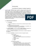 Reglamento selección interna ayudantes de 2da - junio 2010