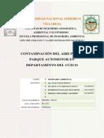 Contaminacion Por El Parque Automotor