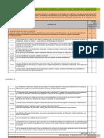 Check List Diagnostico ISO 17025
