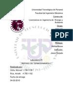Termodinamica 2 IEM-131 Informe 1 Ostía, Ríos