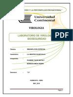 Laboratorio de Virologia y Bioseguridad Hospital El Carmen