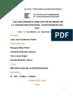 Factores de Riesgo de Parasitos Intestinales en Alumnos II