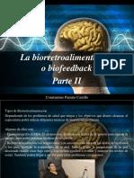Constantino Parente Castillo - La Biorretroalimentación oBiofeedback, Parte II