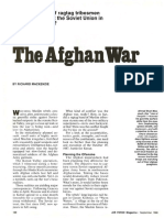 The Afghan War