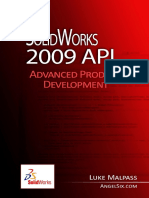SolidWorks 2009 API - Advanced Product Development