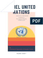 Model United Nations Guidelines