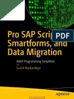 Pro SAP Scripts, Smartforms, And Data Migration
