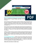 Bursa Taruhan Borussia Dortmund vs Eintracht Frankfurt 15 September 2018