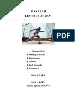 MAKALAH LEMPAR CAKRAM.docx