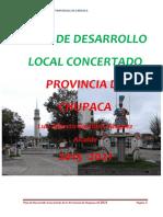 Plan de Desarrollo Local Concertado