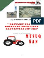 Plan de Gobierno Tractor