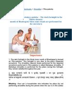 Shraddha Pitru-paksha by Www.sanatan.org Combined
