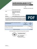 InforNº 021- Pedido Compra
