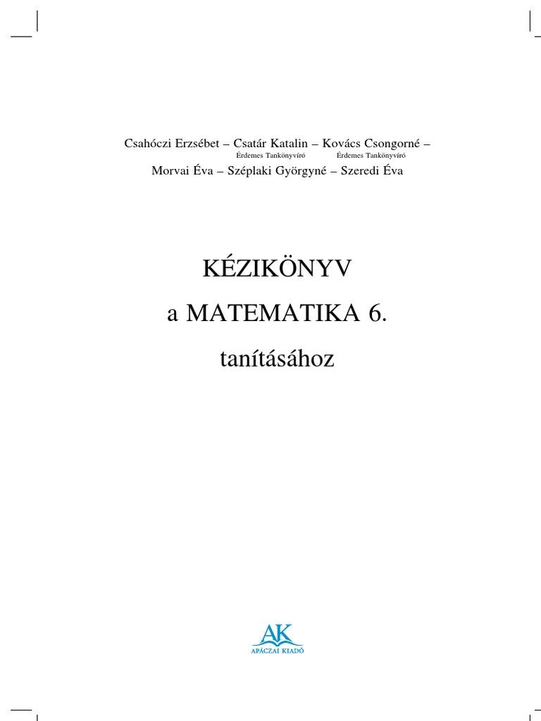 7. Osztályos Apáczai Felmérők Magyar 57c233a5cb