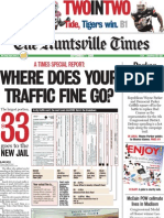 Where does your traffic fine go?