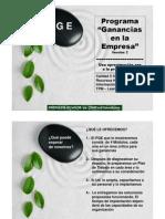 Programa Ganancias en La Empresa 6 230510