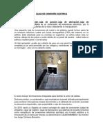 Trabajo de Instalaciones Electricas -Cajas Parte 1