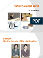 PPT Conduct a Night Audit Final Refined