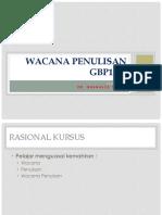 RMK GWP 1092 Wacana Penulisan
