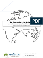 Art Spaces Hosting Activism