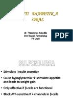 IT 10 - Farmakologi Obat - Obat Di Bidang Endokrin - TEO