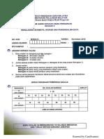 MTES3182 Pengajaran Sukatan, Geometri Dan Perwakilan Data (Elektif) Nov 2012