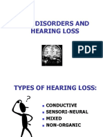 Ear Disorders Hearing Loss
