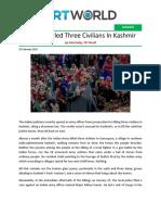 No One Killed Three Civilians In Kashmir.pdf