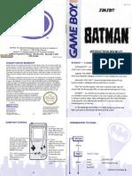 Batman- The Video Game - 1990 - SunSoft, Ltd.